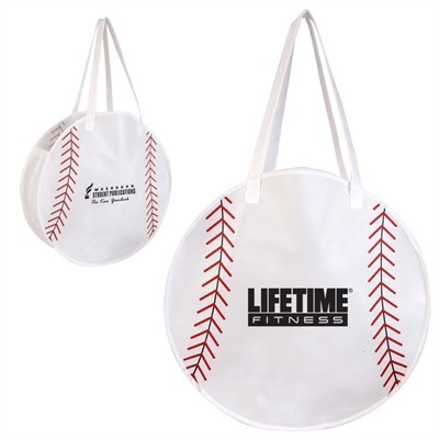 Compact Baseball Tote Bag