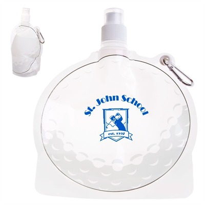 Golf Ball Design Foldable Drink Bottle