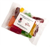 100gm Jelly Babies Cello Bag