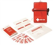 15 Piece Waterproof First Aid Kit