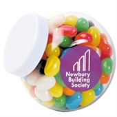 160gm Jelly Beans Mixed Colours Plastic Container