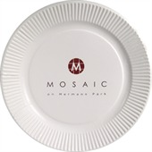 230mm White Paper Plate