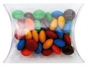 40gm M&Ms Clear Pillow Box
