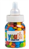 50gm M&Ms Baby Bottle