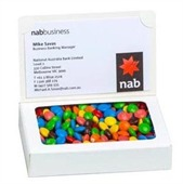 50gm M&Ms Business Card Box