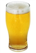 570ml Conical Beer Glass