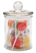 75gm Lollipops Apothecary Jar