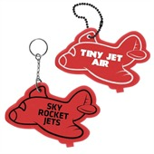 Airplane Floating Keyring