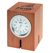Analog Wood Desk Clock