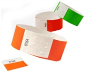 Blank Tyvek Wristbands