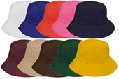 Colourful Cotton Bucket Hat