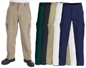 Cotton Drill Cargo Pants