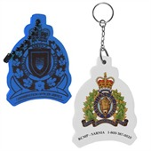 Crest Floating Keyring