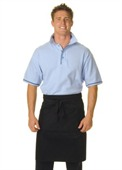 Custom Half Length Apron With Pocket