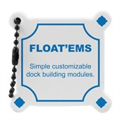 Dock Floating Keyring