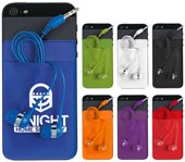 Expanda Phone Card Sleeve With Earbuds