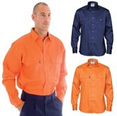 Flame Retardant Drill Shirt Long Sleeve
