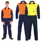 Flame Retardant Two Tone Drill Overalls