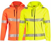 Hi Vis Heavy Duty Softshell Jacket with 3M Tape