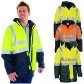 HiVis 4 in 1 Two Tone Breathable Jacket