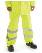 HiVis Breathable And Anti-Static Trousers