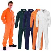 HiVis Cotton Drill Coverall