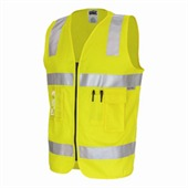 HiVis Day And Night Cotton Safety Vest