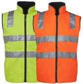 HiVis Day And Night Reversible Safety Vest