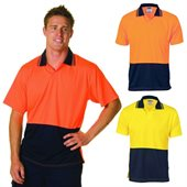 HiVis Food Industry Polo Short Sleeve