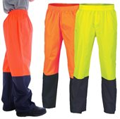 HiVis Two Tone Light Weight Rain Pant