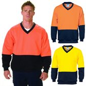 HiVis Two Tone V Neck Sweatshirt