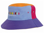 Kids Multicoloured Bucket Hat