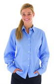 Ladies Chambray Long Sleeve