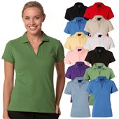 Ladies Combed Cotton Polo Shirt