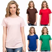 Ladies Cotton Tee Shirt