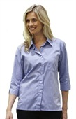 Ladies Fine Chambray Business Shirt