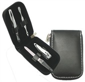 Leather Look Manicure Set