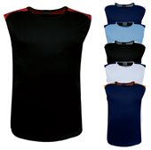 Mens Contrast Feature Tank Top