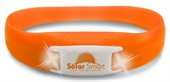 Orange Pulse LED Flashing Wristband