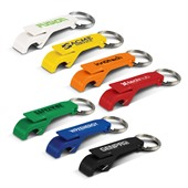 Plastic Flip Top Bottle Opener Keyring