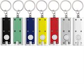 Press Button Light Key Ring