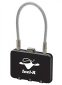Rectangle Metal Coded Luggage Lock