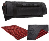 Red And Black Fleece Blanket