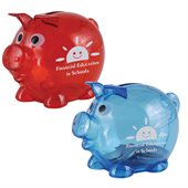 Small Plastic Piggy Bank