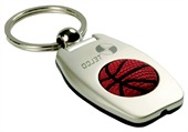 Torch Basketball Keyring