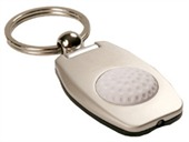 Torch Golf Ball Keyring