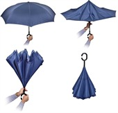 Upended Hook Handle Umbrella