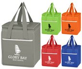 Wave Design Non woven Cooler Bag