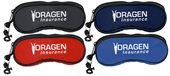 Zippered Nylon Sunglass Case